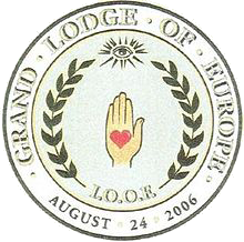Seal of IOOF Grand Lodge of Europe